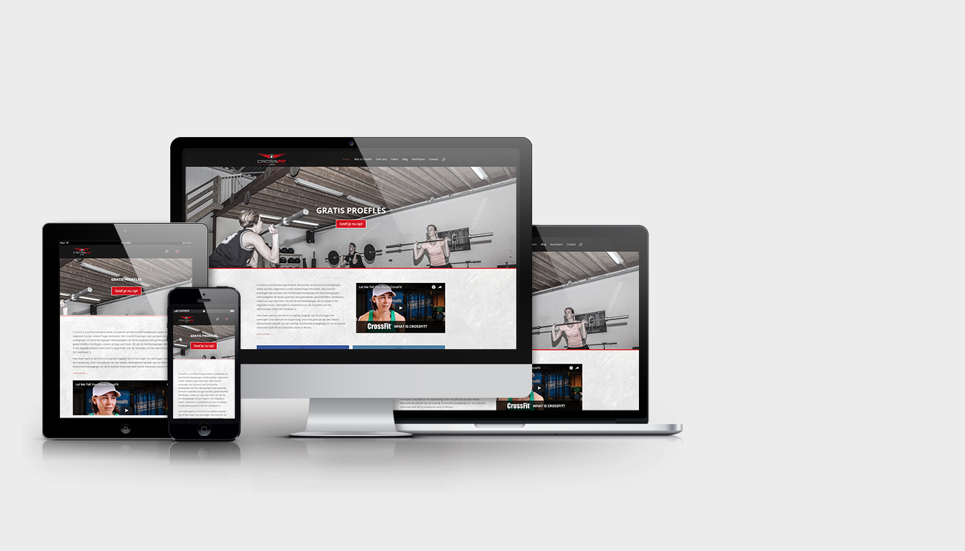 Website CrossFit Urk